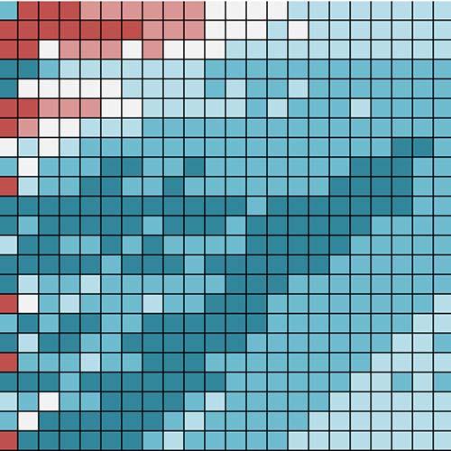 Pixel Chart Icon